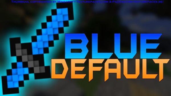 minecraft pvp texture pack blue default high fps 1 7 x 1 8 x. Black Bedroom Furniture Sets. Home Design Ideas