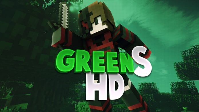 Green PvP Texture Pack No Lag 1 7/1 8/1 9