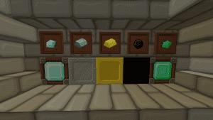 SphaxPureBD Craft Resource Pack: Diamond, Iron, Gold, Coal, Emerald