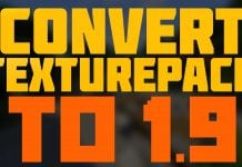 Convert Texture Pack to 1.9