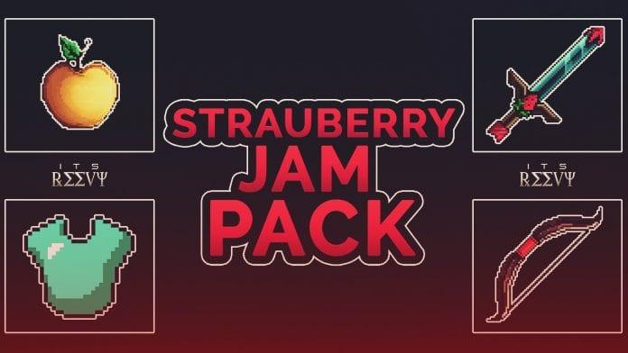 StrauberryJam PvP Texture Pack