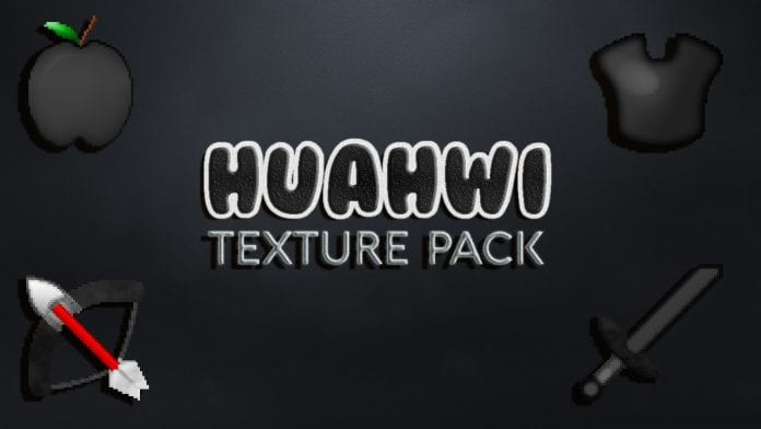 Huahwi Black & White PvP Texture Pack 1.9