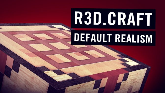 R3D CRAFT 256x - Play Minecraft in High Definition ...