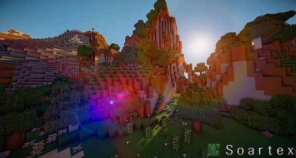 Soartex Fanever Resource Pack: Landscape