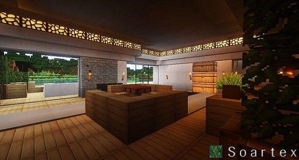 Soartex Fanever Resource Pack: Inside House