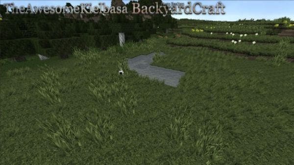 BackyardCraft Resource Pack: Landscape