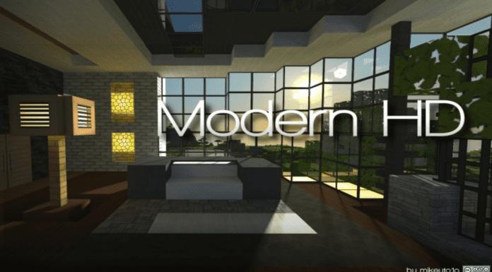 Modern HD Resource Pack Minecraft 1.12.2/1.11.2/1.10.2