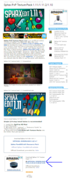 How to download a Resource Pack from Minecraft-Resourcepacks com
