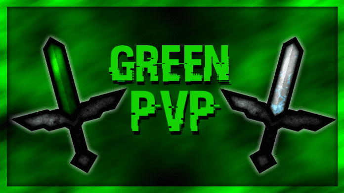 Green PvP Texture Pack for Minecraft 1.12.2, 1.12, 1.11.2, 1.11, 1.10