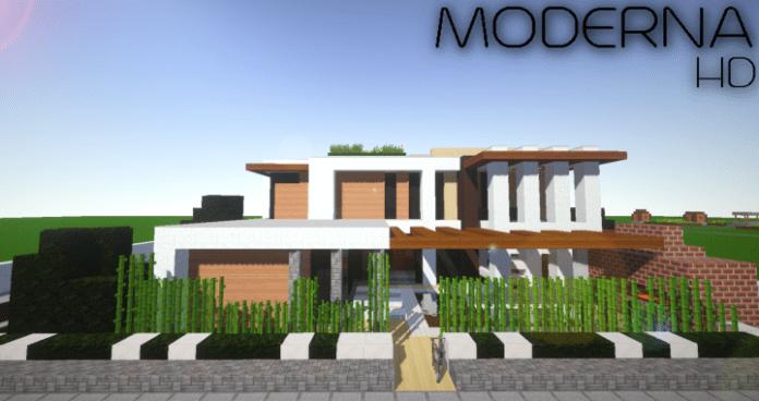 Moderna hd resource pack for minecraft for Casa moderna 10 x 10 minecraft