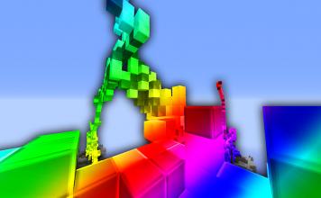 Rainbow Texture Pack Challenge BedWars