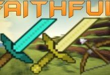 Faithful PvP Texture Pack Short Swords