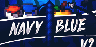 Navy Blue v2 UHC PvP Texture Pack v2