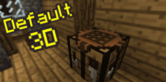 Minecraft Default 3D 1.14.2 / 1.14