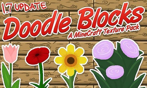 Doodle Blocks Resource Pack 1.7.10