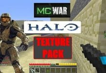 Halo MC-War Resource Pack 1.7.10