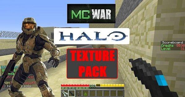 Halo MC-War Resource Pack 1.7.10