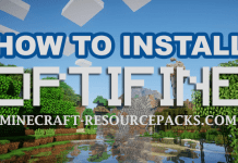 How To Install OptiFine 1.14.3