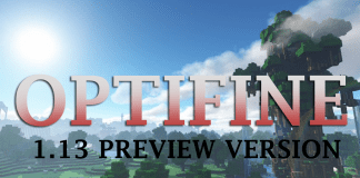 OptiFine 1.13 HD U E3 beta4