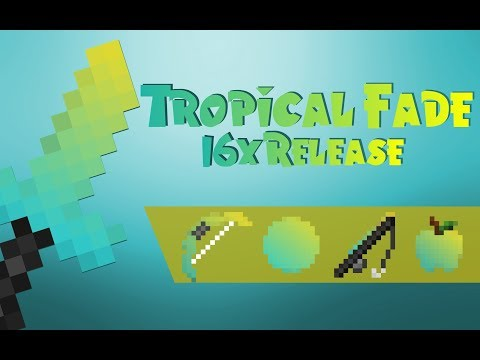 Tropical Fade Resource Pack [16x] for Minecraft 1.8.9