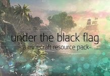 Under The Black Flag Resource Pack 1.7.10