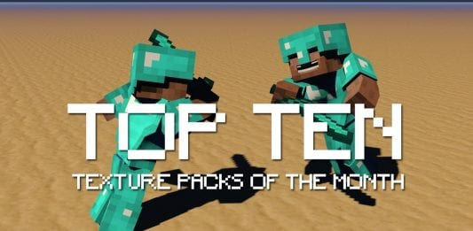 Top 10 Minecraft Texture Packs of the Month