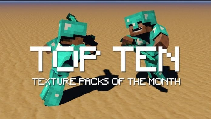 Top 10 Minecraft Texture Packs of the Month - Review and
