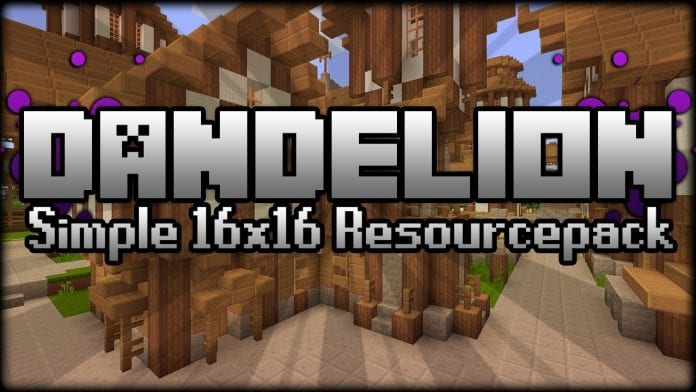 Dandelion Resource Pack 1.11.2