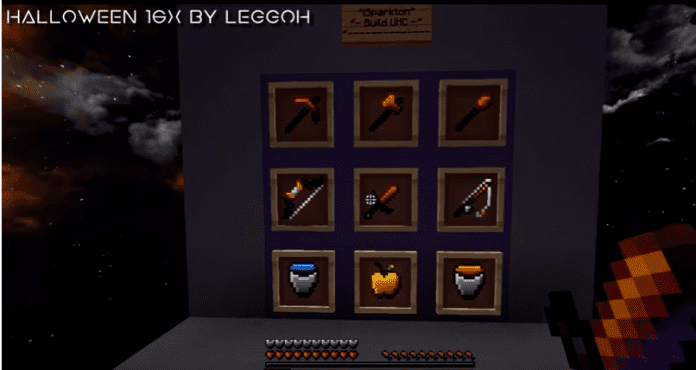 Halloween PvP Texture Pack 1.8 [16x] by Leggoh