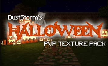 Halloween PvP Texture Pack 1.8 by DustStorm