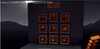 Halloween Texture Pack for PvP 1.8 [16x] by Rezco