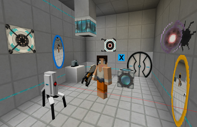 Precisely Portal Resource Pack 1.13