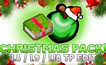 CHRISTMAS PvP Resource Pack for Minecraft 1.8 by AciDic BliTzz