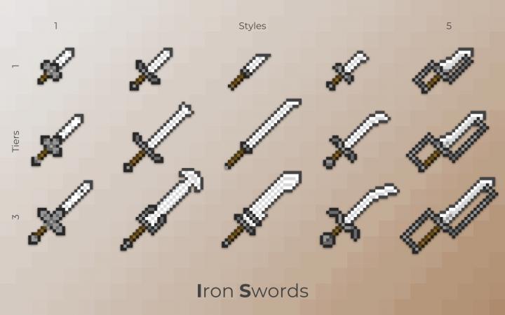 Infinite Swords Project Resource Pack 1 12 2 - Minecraft PvP