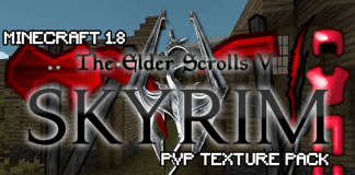 Skyrim PvP Texture Pack 1.8