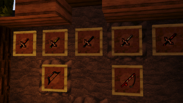 Christmas PvP Texture Pack - weapons