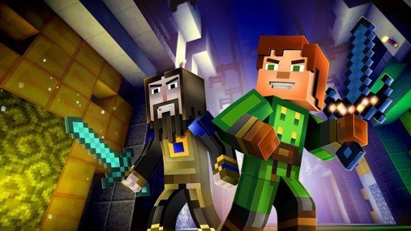 Minecraft Story Mode Netflix = 3