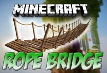 Rope Bridge Mod 1.12.2