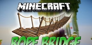 Rope Bridge Mod 1.12.2