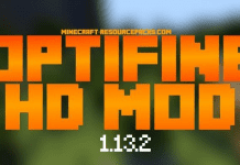 OptiFine 1.13.2