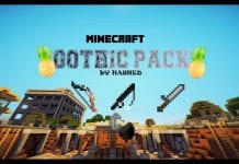 Gothic PvP Texture Pack 8x8 FPS