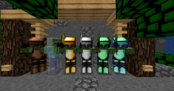Green Leaves PvP Texture Pack - 2