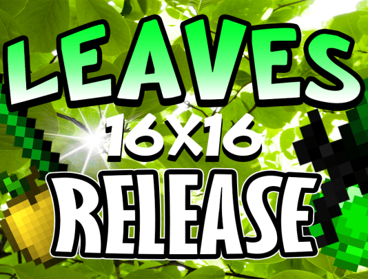 Green Leaves PvP Texture Pack