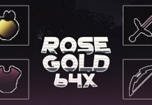 Rose gold 64x PvP Texture Pack