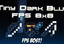 Tiny Dark Blue FPS PvP Texture Pack