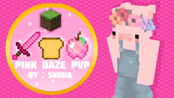 Pink Daze PvP Texture Pack for Minecraft 1.8 – Fascinating PvP Pack