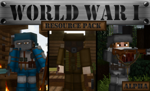 Top 10 Minecraft 1.14 Texture Packs - World War I PvP Texture Pack
