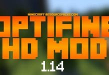 OptiFine 1.14.3