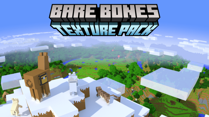 Bare Bones 1.14.3 / 1.14 Texture Pack - Awesome 3D Renders