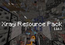 Xray Resource Pack 1.14.3 - 1.14.2 - 1.14.1 - 1.14